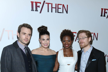 Anthony Rapp Lachanze 'If/Then' Broadway Opening Night Afterparty