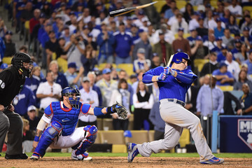 Anthony Rizzo NLCS - Chicago Cubs v Los Angeles Dodgers - Game Three