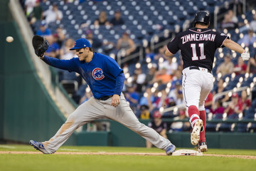 Anthony Rizzo Chicago Cubs vs. Washington Nationals