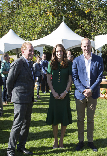 Prince William and Kate Middleton, the Duke and Duchess of Cambridge, Visit Mission Hill Family Estate in British Columbia's Okanagan Valley