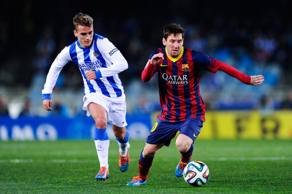 ... Copa del Rey Semi Final second leg between Real Sociedad and FC