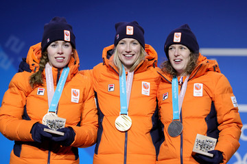 Antoinette de Jong Medal Ceremony - Winter Olympics Day 2