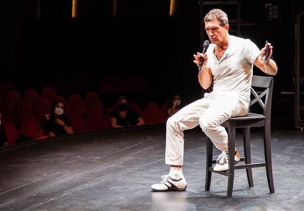 Antonio Banderas Speaks To Media At Soho Caixabank Theatre [performance art,performance,performing arts,performance art,event,heater,stage,acting,talent show,antonio banderas,media,performance,handout image,acting,media,soho caixabank theatre,theatre,theater,musical theatre,theatre,human body,performance art,acting,human,musical,performance]