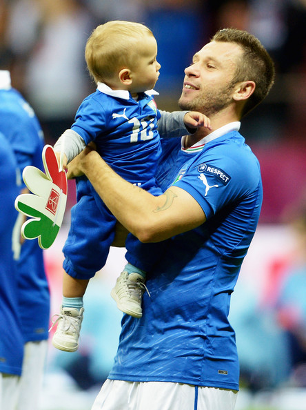 Photo of Antonio Cassano & his  Son  Christopher Cassano