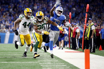 Antonio Morrison Green Bay Packers vs. Detroit Lions