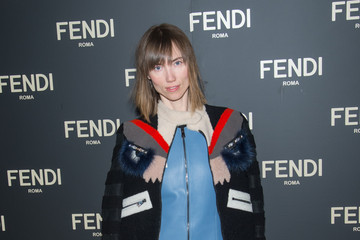 Anya Ziourova Fendi Celebrates The Opening Of The New York Flagship Store - Dinner