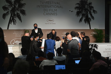 Apichatpong Weerasethakul Closing Ceremony Press Conference - The 74th Annual Cannes Film Festival
