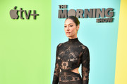 """Janina Gavankar attends the Apple TV+'s """"The Morning Show"""" World Premiere at David Geffen Hall on October 28, 2019 in New York City."""