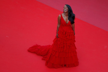 Araya Hargate 'Ash Is The Purest White (Jiang Hu Er Nv)' Red Carpet Arrivals - The 71st Annual Cannes Film Festival