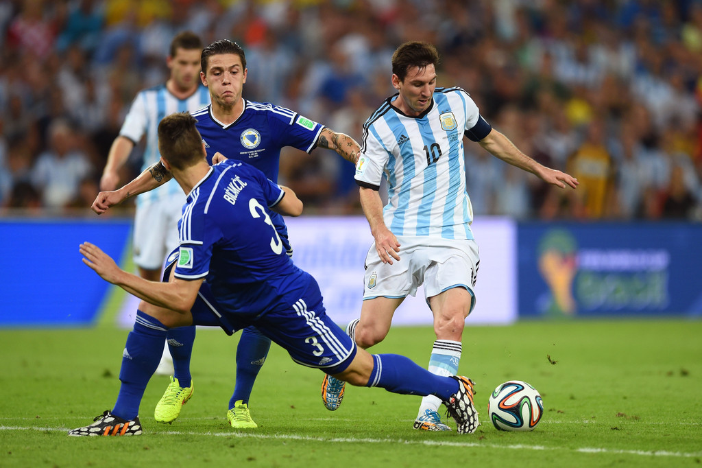 Lionel Messi Photos Photos - Argentina v Bosnia ...