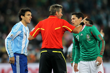 Guillermo Franco Argentina v Mexico: 2010 FIFA World Cup - Round of Sixteen