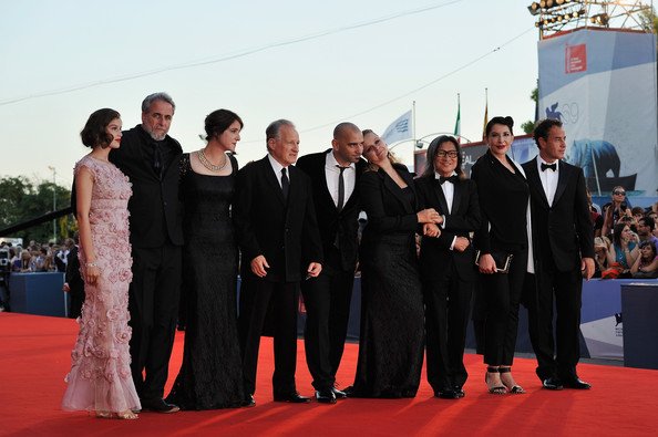 """Award Ceremony And """"L'Homme Qui Rit"""" Arrivals - The 69th Venice Film Festival"""