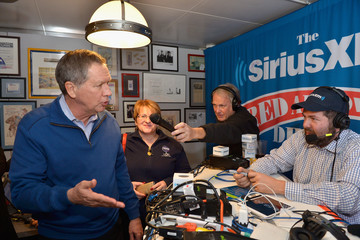 Ari Rabin-Havt SiriusXM Broadcasts New Hampshire Primary Coverage Live From Iconic Red Arrow Diner - Day 2