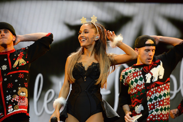 Y100's Jingle Ball Show [performance,event,performing arts,human body,dance,dancer,competition,muscle,performance art,stage,ariana grande,miami,fl,bb t center,y100,jingle ball 2014 - show]