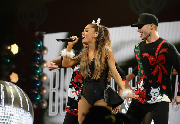 Y100's Jingle Ball Show [performance,entertainment,performing arts,event,singing,stage,public event,performance art,music,concert,ariana grande,miami,fl,bb t center,y100,jingle ball 2014 - show]
