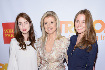 Arianna Huffington Isabella Huffington Arrivals at the 'TrevorLIVE NY' Event — Part 2