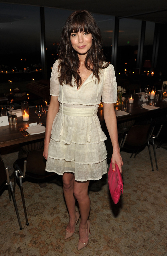 Michelle Monaghan Photos Ariel Foxman Editor Of Instyle And The Council Of Fashion Designers