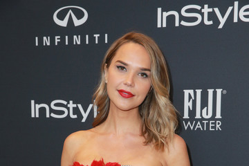 Arielle Kebbel Hollywood Foreign Press Association and InStyle Celebrate the 75th Anniversary of the Golden Globe Awards - Arrivals