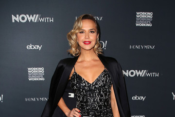Arielle Kebbel NowWith Presented By Yahoo Lifestyle In Partnership With Working Sundays Series With Nicole Richie's Honey Minx Collection Reveal
