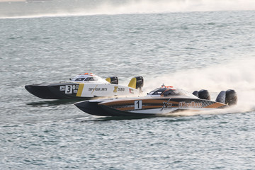 Arif Al Zaffain UIM XCAT World Series - Round 6, Abu Dhabi GP - Day 3
