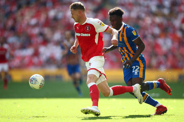 Aristote Nsiala Rotherham United vs. Shrewsbury Town - Sky Bet League One Play Off Final