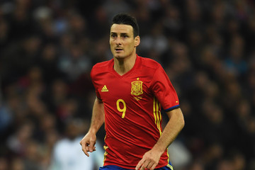 Aritz Aduriz England v Spain - International Friendly