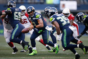 Mike Davis and Russell Wilson Photos Photo