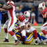 Carson Palmer Photos - Carson Palmer #3 of the Arizona Cardinals is sacked in the second quarter against the St. Louis Rams at the Edward Jones Dome on December 6, 2015 in St. Louis, Missouri. - Arizona Cardinals v St Louis Rams