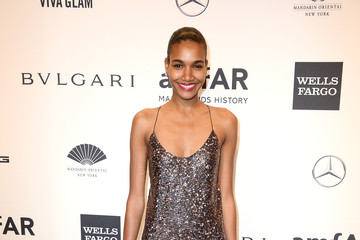 Arlenis Sosa Arrivals at the amfAR New York Gala