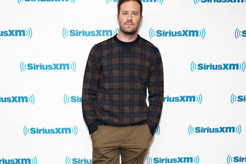 Armie Hammer SiriusXM's Entertainment Weekly Radio Spotlight With Felicity Jones And Armie Hammer