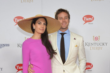 Armie Hammer Moet & Chandon Toasts The 139th Kentucky Derby - Day 2