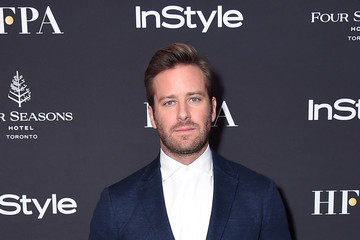 Armie Hammer The Hollywood Foreign Press Association And InStyle Party At 2018 Toronto International Film Festival - Arrivals