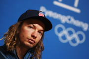 David Wise of the United States attends a closing press conference for Team USA on day sixteen of the 2018 PyeongChang Winter Olympic Games on February 25, 2018 in Pyeongchang-gun, South Korea.