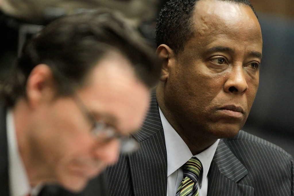 conard murray Dr conrad murray, seen here in court in 2011, insisted in a new interview that michael jackson was responsible for.