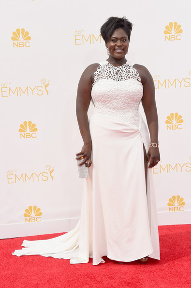 Actress Danielle Brooks attends the 66th Annual Primetime Emmy Awards held at Nokia Theatre L.A. Live on August 25, 2014 in Los Angeles, California.