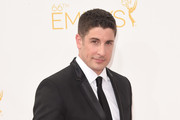 Actor Jason Biggs attends the 66th Annual Primetime Emmy Awards held at Nokia Theatre L.A. Live on August 25, 2014 in Los Angeles, California.