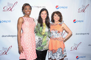 (L-R) Actress Patina Miller, director Diane Paulus, and actress Andrea Martin attend the 79th Annual Drama League Awards Ceremony And Luncheon at Marriott Marquis Hotel on May 17, 2013 in New York City.