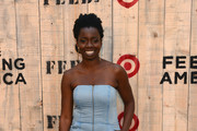 Adepero Oduye attends FEED USA + Target launch event on June 19, 2013 in New York City.