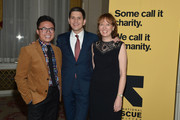 (L-R) Chef Viet Pham, Louise Miliband and IRC President and CEO David Miliband attend the Annual Freedom Award Benefit hosted by the International Rescue Committee at the Waldorf-Astoria hotel on November 6, 2013 in New York City.