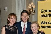 Louise Miliband, IRC President and CEO David Miliband, and former Secretary of State Madeleine Albright attend the Annual Freedom Award Benefit hosted by the International Rescue Committee at the Waldorf-Astoria hotel on November 6, 2013 in New York City.