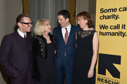 (L-R) Todd Thomas, Debbie Harry, Louise Miliband and IRC President and CEO David Miliband attend the Annual Freedom Award Benefit hosted by the International Rescue Committee at the Waldorf-Astoria hotel on November 6, 2013 in New York City.