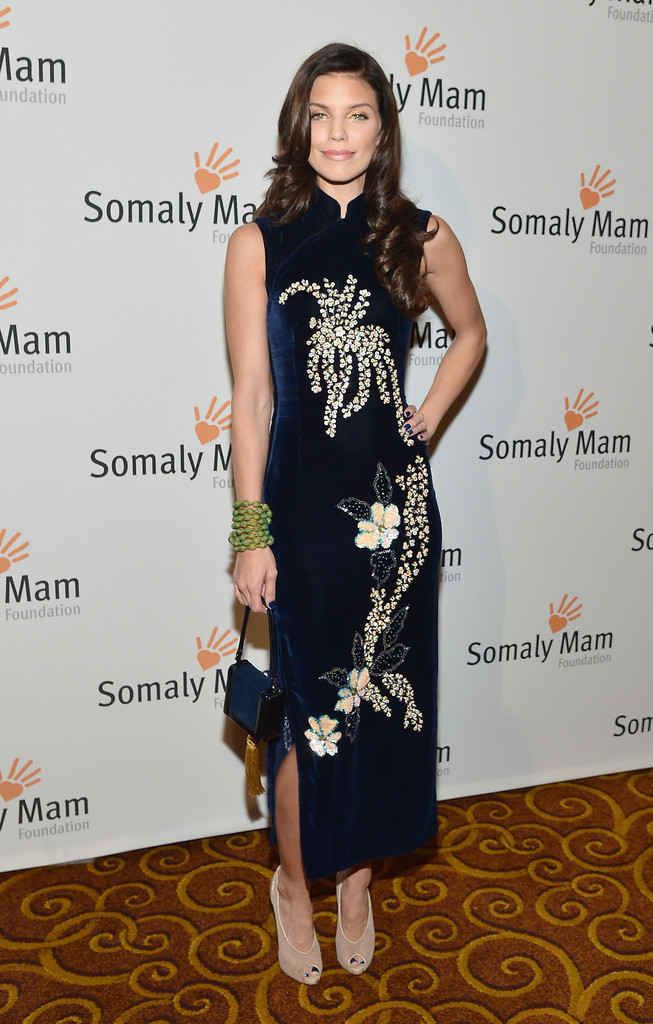 "Actress AnnaLynne McCord attends the Somaly Mam Foundation Gala ""Life Is Love"" at Gotham Hall on October 23, 2013 in New York City."