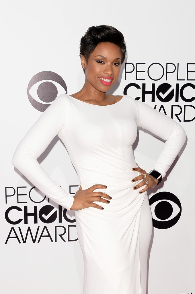 jennifer hudson all white