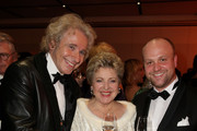 Thomas Gottschalk, Marie-Luise Marjan and Moritz Sachs attend the Semper Opera Ball 2014 at Semperoper on February 7, 2014 in Dresden, Germany.