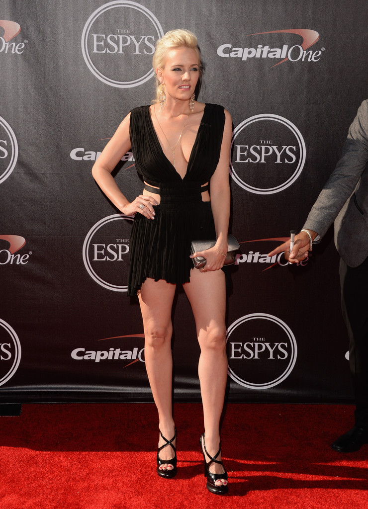 Hannah Cornett In Arrivals At The ESPYS