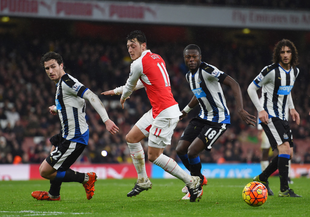 Arsenal Vs Newcastle: Chancel Mbemba In Arsenal V Newcastle United