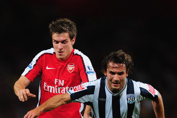 Filipe Teixeira Arsenal v West Bromwich Albion - Carling Cup