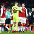 Joe Hart Danny Welbeck Photos - Joe Hart of West Ham United and Danny Welbeck of Arsenal embrace during the Carabao Cup Quarter-Final match between Arsenal and West Ham United at Emirates Stadium on December 19, 2017 in London, England. - Arsenal v West Ham United - Carabao Cup Quarter-Final