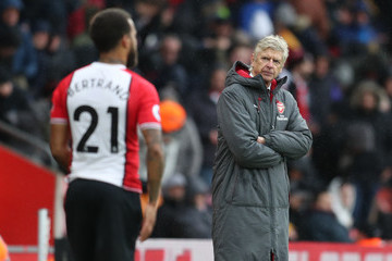 Arsene Wenger Southampton v Arsenal - Premier League