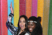 Rosario Dawson and Abrima Erwiah attend the #TogetherBand Party during Art Basel Miami 2019 at Miami Beach Botanical Garden on December 5, 2019 in Miami Beach, Florida.